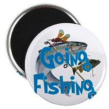 going fishing Magnet