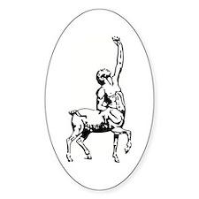 Centaur Oval Decal