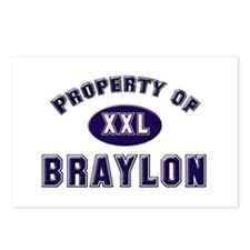 Property of braylon Postcards (Package of 8)