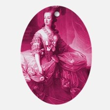 marie-antoinette-pinkified_sg Oval Ornament