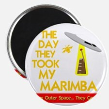 funny marimba musical instrument Magnet