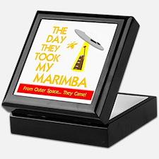 funny marimba musical instrument Keepsake Box