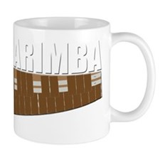 marimba mallets musical musician Mug