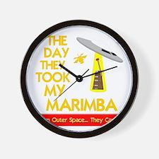 funny marimba musical instrument Wall Clock