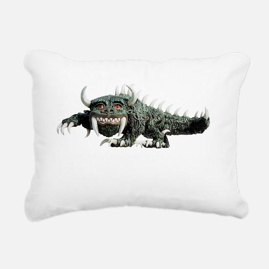 rhinelander_hodag_4dark_ Rectangular Canvas Pillow