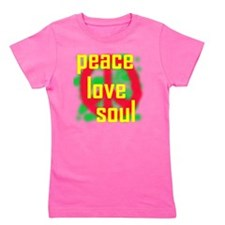 Peace Love Soul Girl's Tee