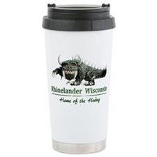 Hodag_Rhinelander Thermos Mug