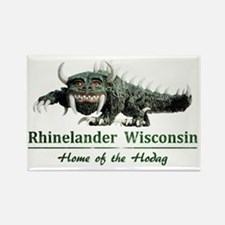 Hodag_Rhinelander Rectangle Magnet