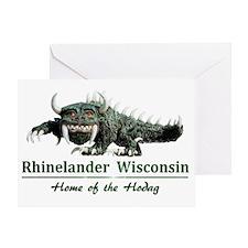 Hodag_Rhinelander Greeting Card