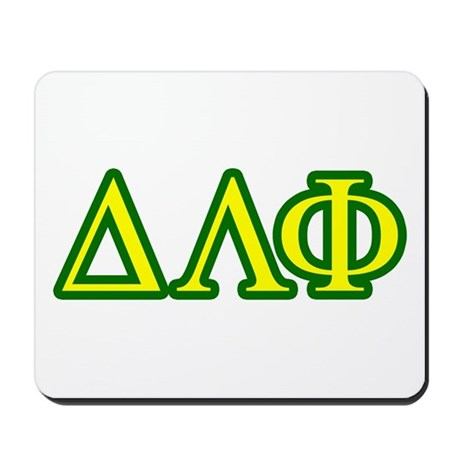 Brother Letters/Colors Mousepad