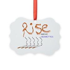 Rise Above Smoking2_WJC2011 Ornament