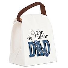 CotondeTulearDAD Canvas Lunch Bag