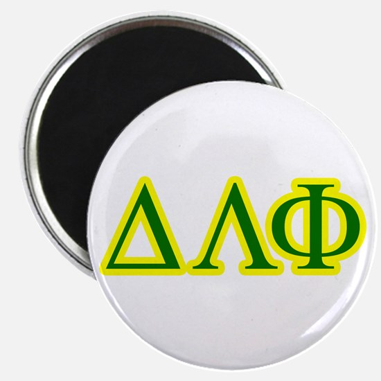 Pledge Letters/Colors Magnet