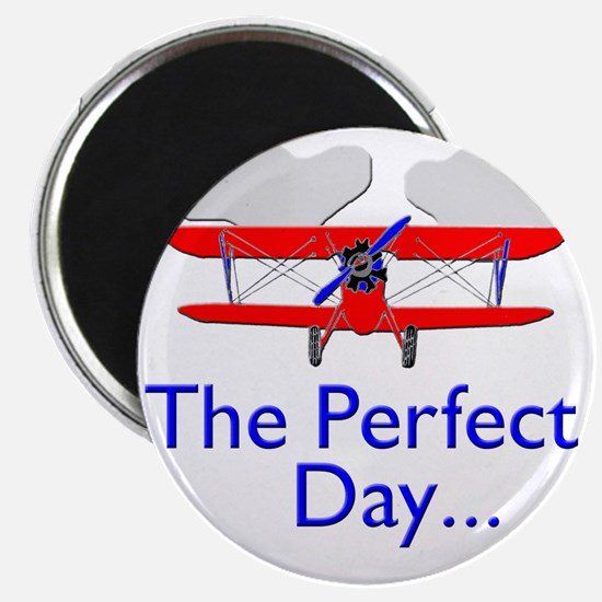 biplane airplane flying aircraft Magnet