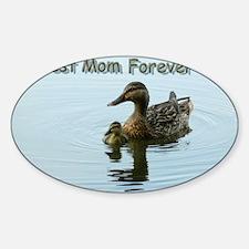 my-baby-mom-lighter Sticker (Oval)