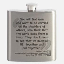 Ford Together Quote Flask