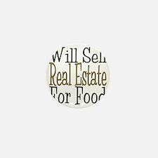 Will Sell Real Estate Mini Button