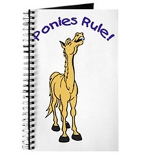 Ponies Rule Journal