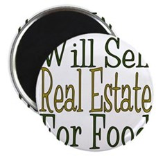 Will Sell Real Estate Magnet