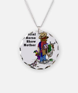 Horse Show Mom - western Necklace