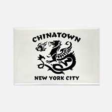 Chinatown New York City Rectangle Magnet