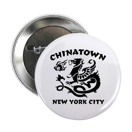 Chinatown New York City Button