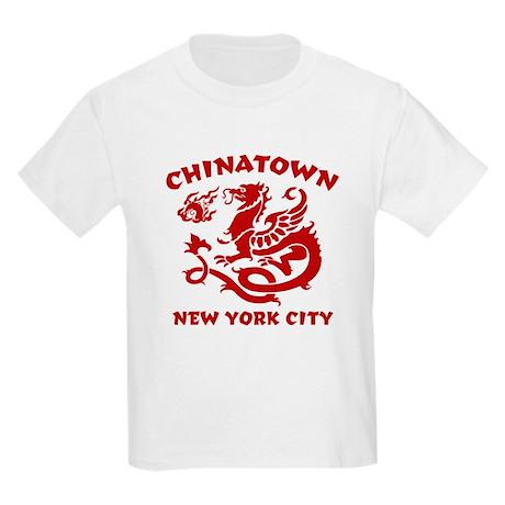 Chinatown New York City Kids T-Shirt