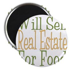 Will Sell Real Estate dark Magnet