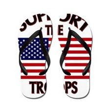 Support The Troops Flip Flops