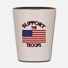 Support The Troops Shot Glass