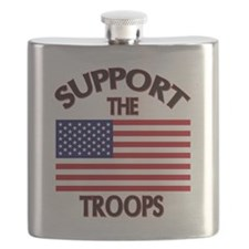 Support The Troops Flask