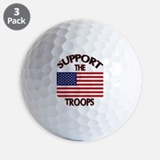 Support The Troops Golf Ball