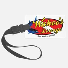 wahoos Lounge Belize Luggage Tag