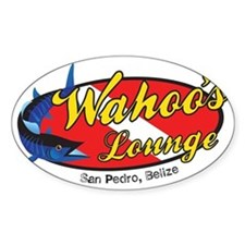 wahoos Lounge Belize Decal