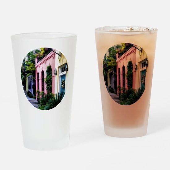 RainbowRow_Summer_Ornamenta Drinking Glass