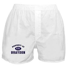 Property of brayden Boxer Shorts