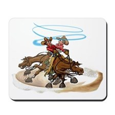 Reining Horse Spin Mousepad