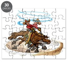 Reining Horse Spin Puzzle