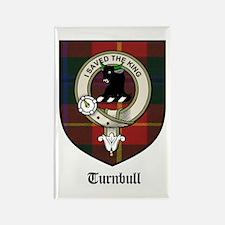 Turnbull Clan Crest Tartan Rectangle Magnet (10 pa