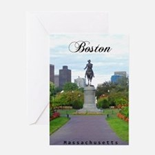 Boston_5.5x8.5_Journal_BostonPublicG Greeting Card