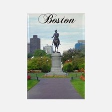 Boston_5.5x8.5_Journal_BostonPubl Rectangle Magnet