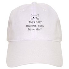 Cats Have Staff Baseball Baseball Cap