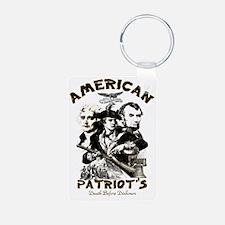 American Patriot 2 Keychains