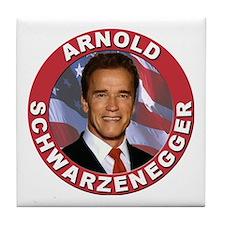 Arnold Schwarzenegger Tile Coaster