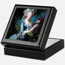 marie-antoinette-portrait_15x18v Keepsake Box