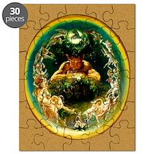 DanielMaclise_FaunFairies_5x7 Puzzle