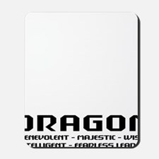 dragon66red Mousepad