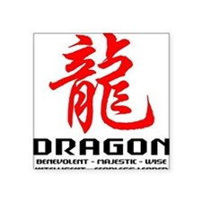 "dragon66light Square Sticker 3"" x 3"""