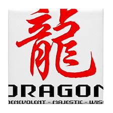 dragon66light Tile Coaster