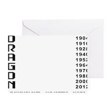 dragon64red Greeting Card